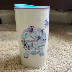 Starbucks Epcot 2019 Ceramic Travel Mug Disney